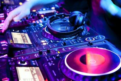 Poster DJ mistura a trilha
