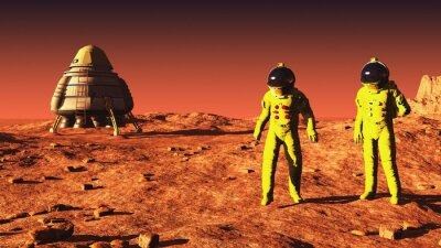 Poster em Marte