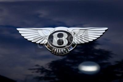Poster Emblema de Bentley - shoting fora