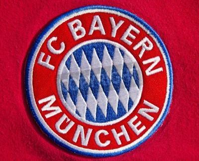 Poster Emblema do clube de futebol alemão Bayern de Munique