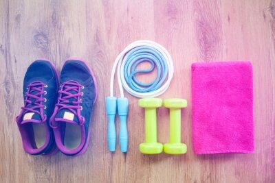 Poster equipamentos de fitness