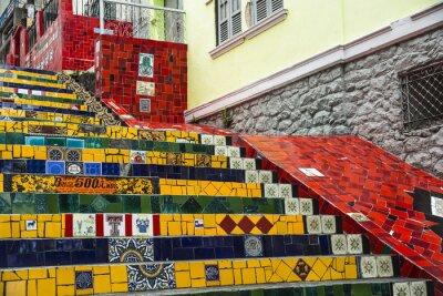 Poster Escadaria Selaron, Rio de Janeiro, Brasil