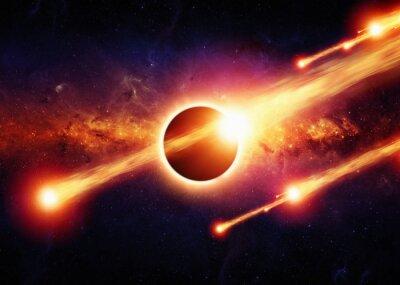 Poster Espaço apocalipse Abstract