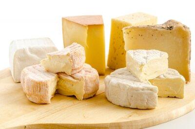 Poster especialidades internacionais queijo