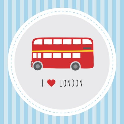 Poster Eu amo London12