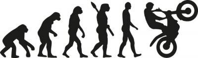 Poster Evolução do motocross
