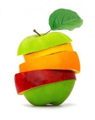 Poster Fatias da fruta