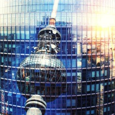 Poster Fernsehturm Berlim