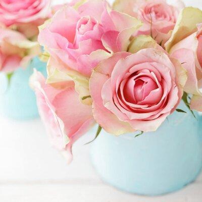 Poster flores em um vaso
