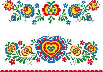 Poster Folk ornaments