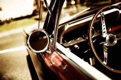Poster fragmento carro retro
