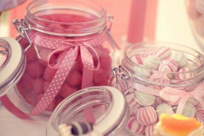 Poster Frasco com doces