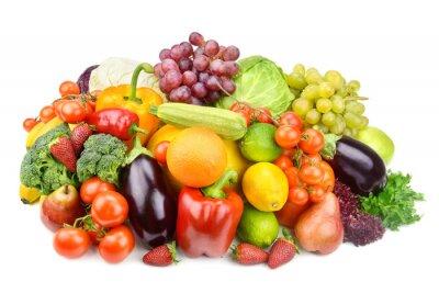 Poster frutas e legumes