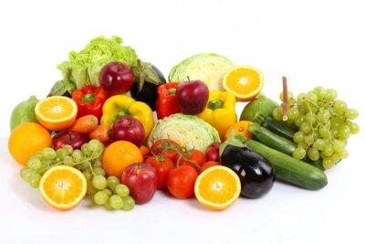 Poster Frutta de e legumes
