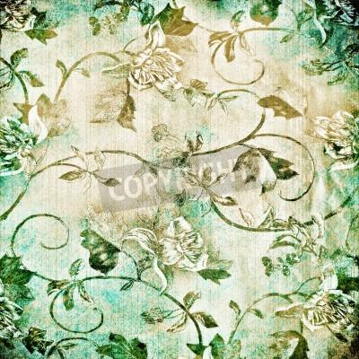 Poster Fundo abstrato com textura de idade grunge. Para textura arte, design do grunge, e do papel do vintage ou frame border