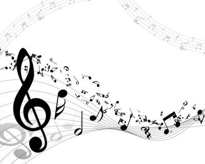 Poster Fundo musical