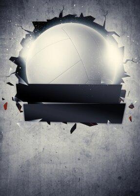 Poster Fundo Voleibol