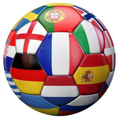 Poster Futebol Europeu