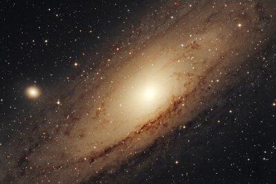 Poster Galassia di  Andromeda  M31