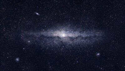 Poster Galáxia brilhante