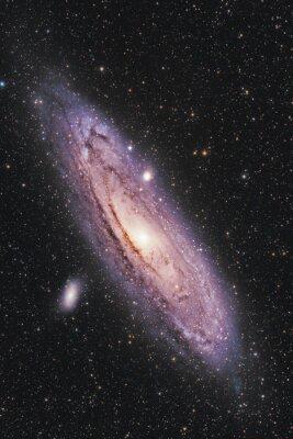 Poster Galáxia de Andrômeda
