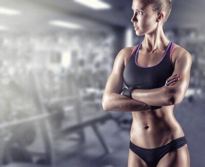 Poster garota atlética
