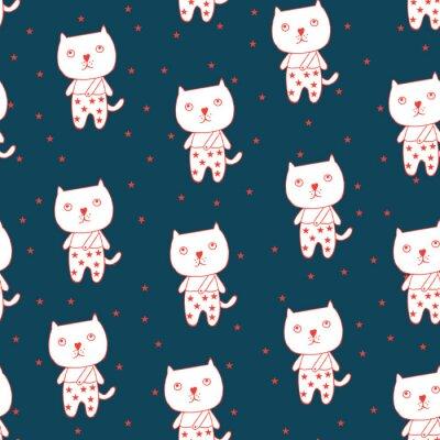 Poster Gato e estrela