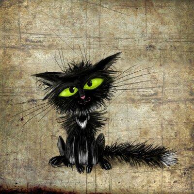 Poster Gato preto