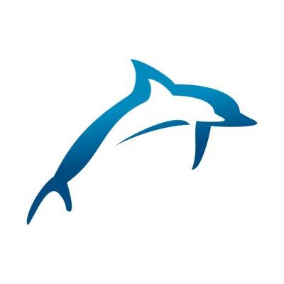 Poster Golfinhos duplos