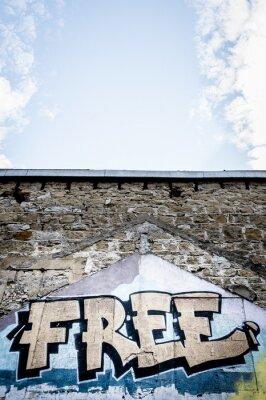 Poster Graffiti Grátis