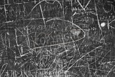Poster Graffiti parede como símbolo de Comunicação Urbana