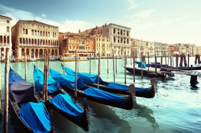 Poster Grand Canal, Veneza, Itália
