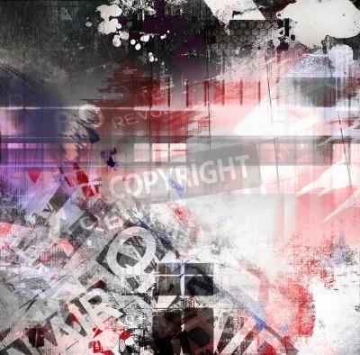 Poster Grunge textura abstrata, arte de fundo