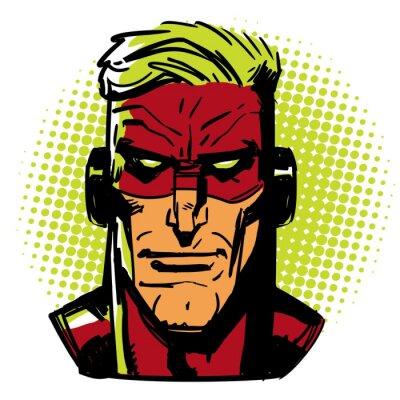Poster Herói vermelho