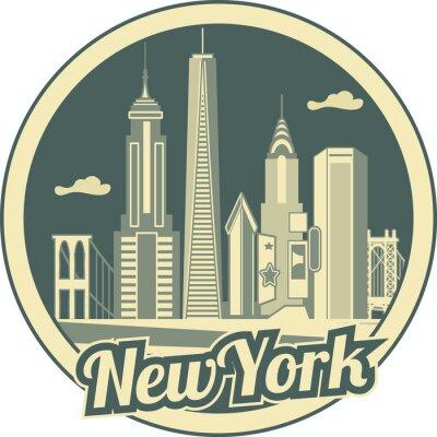 Poster Horizonte de Manhattan