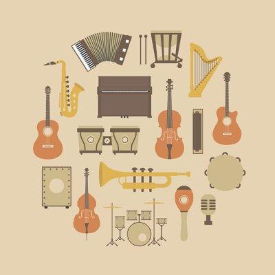 Poster ícone do instrumento