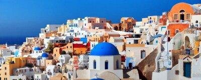 Poster Ilha de Santorini