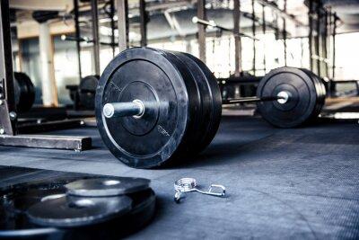 Poster Imagem do close up de um equipamento de fitness