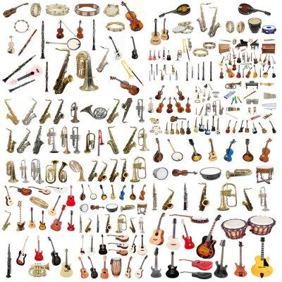 Poster instrumentos musicais