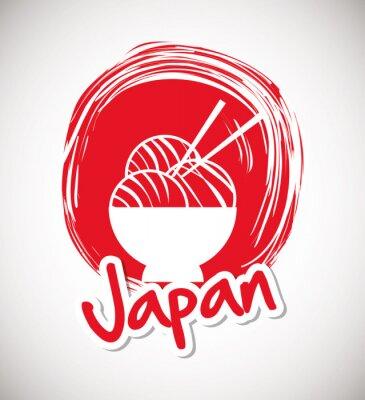 Poster Japão cultura design