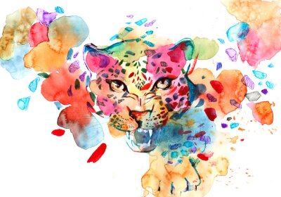 Poster leopardo