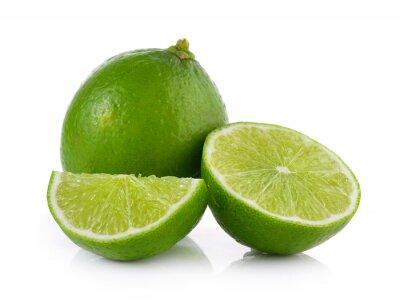 Poster Limão no fundo branco