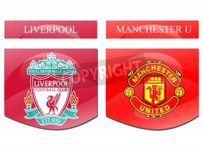 Poster Liverpool vs Manchester U