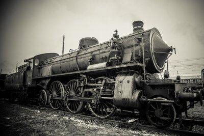 Poster locomotiva