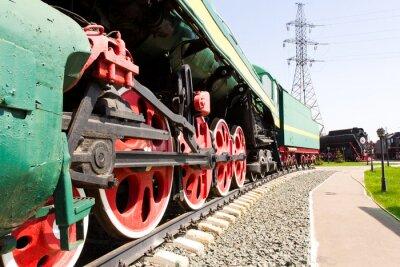 Poster Locomotiva da estrada de ferro