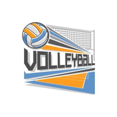 Poster Logotipo Voleibol