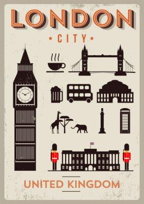 Poster London City Design de Cartazes