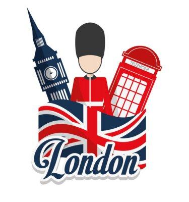 Poster London marcos design