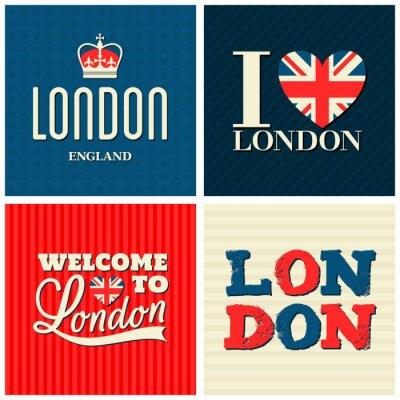 Poster Londres Coleção Cartões