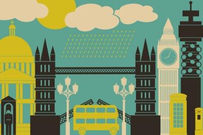 Poster Londres Ver